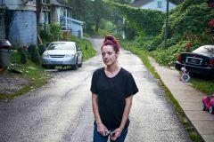 Kayla Posing, Wheelwright KY.  2017 - Brittany Greeson