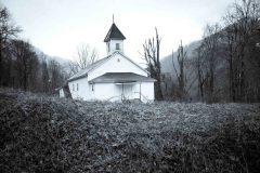 Church with Kudzu Vines. Harlan County, KY.  2018 - Ross Gordon