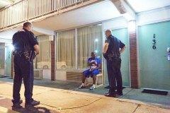 Disturbance at a Motel 6. Paducah, KY. 2015 - Bob Hower
