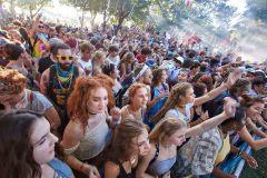 Forecastle Festival Crowd. Louisville, KY.  2015 -  Ted Wathen