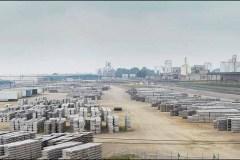 Stored Aluminum, Owensboro KY Riverport. 2015 - Ted Wathen