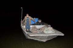 Ronnie Hopkins in his Boat. Kentucky Lake.  2015 – Bob Hower